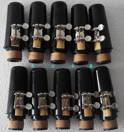 reparação de flauta Desconto Excellence 10 set Bb clarinet mouthpiece ligature and cap