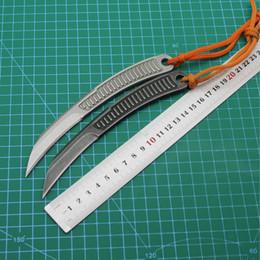Facas de velocidade on-line-pesca de aço All Outdoor Camping Extreme Speed pequeno linha reta faca de caça Outdoor Survival Tactical KnifeMountaineering knifeFree Shipping