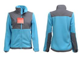 2019 bottone militare in su Inverno Le donne di marca Fleece Jacket Fashion Lady Camping cappotto antivento all'aperto Sport invernali Alpinismo sportivo Uomo Nero S-XX