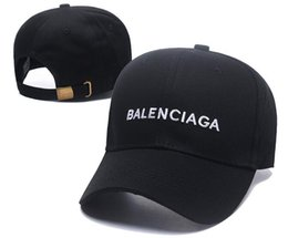 2019 new fashion BNIB cappello berretto Wave cola logo 17FW Homme Ladies Mens Unisex rosso Berretto da baseball strapback nero ricamo casquette osso cappello da