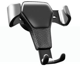 cuna de carga del teléfono celular Rebajas 2019 nuevo soporte para teléfono Gravity Car para teléfono en el coche Soporte de montaje de ventilación de aire No Soporte magnético para teléfono móvil enviar por dhl