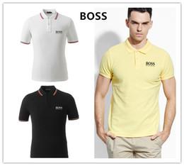 195812587d8 Polos De Mode 2018 Polo T-shirts Pour Hommes Casual Marque Vêtements  D affaires Mâle Respirant Hommes D été Boss Polos Par Hombre île