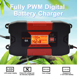 2019 caricabatteria 12v 6a 12V 4A / 6A Auto Smart Battery Charger con CE RoHS completamente PWM Battery Charger caricabatteria 12v 6a economici