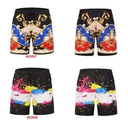 Pantalons de plage de grande taille de la mode créative shorts simples nouveaux hommes hommes créatif poulpe imprimé 3D maillot de bain casual hommes européens ? partir de fabricateur