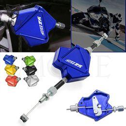 Yamaha cnc kupplungshebel online-Motorrad-CNC-Aluminium Stunt Kupplungshebel Easy Pull-Kabelsystem für YAMAHA YZ250F YZ 250F 250 YZ250 F 2001-2019 2002 2003 2004