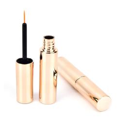 Canada 8 ml vide bouteille d'or étanche eyeliner liquide longue durée crayon oeil eye-liner pour maquillage cosmétique cheap empty eyeliner bottles Offre
