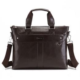 3cea73f8a73 Luxury Brand Men Briefcase Business Laptop Handbag Office Tote A4 Casual  Crossbody Shoulder Bag Male Leather Messenger Work Bag
