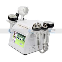 2019 maquina de lavado de cara 6 en 1 Cuerpo de RF de cavitación ultrasónica que adelgaza vacío de radiofrecuencia Anti celulitis Cuidado de la piel Microcorriente BIO Face Lift Hamaca en frío rebajas maquina de lavado de cara