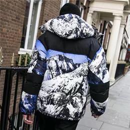 2019 jaqueta para baixo mulheres zip 2019 Designer de Inverno Mens grossas jaquetas de marca Mulheres com capuz de Down Parkas Coats Rua Esporte Blusão Casual Quente Zip Oversize alta B101045L desconto jaqueta para baixo mulheres zip