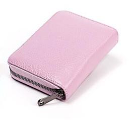 Deutschland neue echtes Leder Anti-Diebstahl-Kartenhalter Kreditkartenetui Veranstalter Reisepass Brieftasche RFID-Sperrkarte Brieftaschen Geldbörse Versorgung