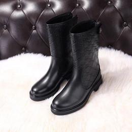 Ting2594 390 Hochtemperatur Geprägtes Gewebe Heiße Stiefeletten Reitregen Stiefel Stiefeletten Turnschuhe Abendschuhe