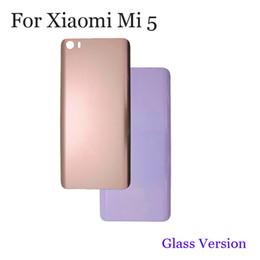 2019 iphone 6s logement de remplacement 100% nouveau verre batterie arrière couvercle du logement de la porte arrière pour Xiaomi Mi 5 couvercle de la batterie pour Xiaomi Mi 5 remplacement Mi5 dur