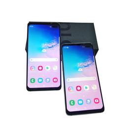 Teléfonos android tv 3g teléfonos online-Nueva versión desbloqueada Goophone S10 más S10 + 6.4 pulgadas 3G Teléfono inteligente 1GB 8GB Muestra 128GB 8MP + 5MP Cámara Android Desbloqueado 3G SmartPhone