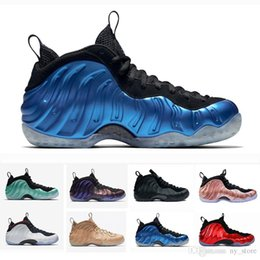 on sale 2094b b314f Cool Sequoia Black Metallic Gold Penny Hardaway Men Basketball Shoes foam  one Alternate Galaxy OG Royal Olympic Sports Sneakers 41-47 affordable foams  penny ...