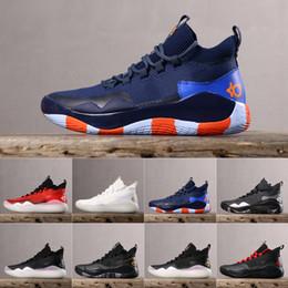 mens athletische kevin durant schuhe Rabatt Mens ZOOM Kevin Durant XII KD 12 Sport-Basketball-Schuhe Athletic Sport Sneakers Designer-Schuhe EUR 40-46