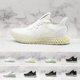2019 zapatos parley De calidad superior AlphaEdge 4D Parley Blanco Aero Green Futurecraft LTD Sneaker Zapatillas de running para hombre Zapatillas deportivas Zapatillas de deporte de diseñador Tamaño 11 zapatos parley baratos