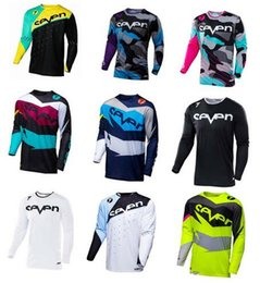 seven shirt Promo Codes - 2018New Brand New Seven Motocross Jersey Downhil Mountain Bike DH Shirt MX Motorcycle Clothing Ropa For Men Quick Dry MTB T Shi