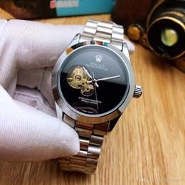 lindas cintas de color naranja Rebajas 009 Rolex LUJO Desinger RELOJ Yate Maestro Cerámica Bisel Mecánico Acero inoxidable Movimiento automático Hombres Hombres Reloj deportivo Relojes