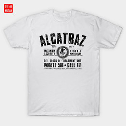 2021 sicherheitshemden Alcatraz T-Shirt Maximum Security Bundesregierung Redemption Verurteilten Jailbreak Jailhouse Shawshank-Insasse günstig sicherheitshemden