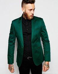 2019 beste kostüme männer New 2019 Grüne Herren Anzüge italienischen Designer Bester Mann-Bräutigam-Smoking Kostüm Mariage Homme Hochzeit Anzüge für Männer rabatt beste kostüme männer