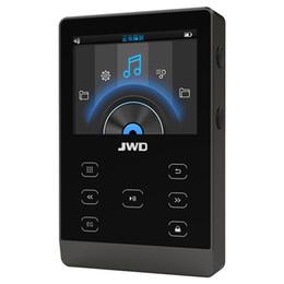 jogador do flac do macaco Desconto JWD JWM-107 16GB Bluetooth MP3 Player metal HiFi Music Player DAC APE FLAC loseless áudio Toque Botão com slot TF