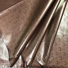 2019 tecido flor preta 3d Atiku tecido para homens bazin riche getzner 2018 nouveau bazin riche tecido guiné brocado alta qualidade 5 jardas / set KFZ-1