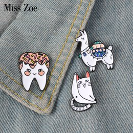 Apparel Sewing & Fabric Arts,crafts & Sewing New Metal Teeth Badge Golden Silver Dentist Gift Decoration Backpack Shirt Denim Jacket Brooch Accessories Jewelry Craft