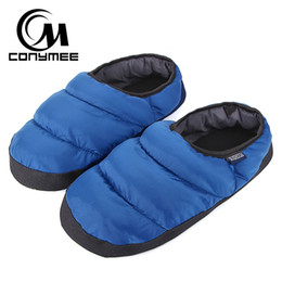8d0e73944 CONYMEE Winter Home Fur Slippers Men Down-cotton Indoor Shoes Pantufa For Mens  Warm Casual Sneakers Plush Slipper Erkek Terlik