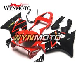 Kit de corpo de carenagem de alta qualidade on-line-Alta Qualidade Red Black Painéis para Honda CBR600F4i 2001 2002 2003 01 02 03 ABS Plástico Injeção Carenagens Sportbike F4i 01 02 03 Body Kits