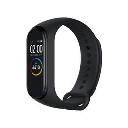2019 мобильный монитор iphone 2019 Оригинал Xiaomi Mi Band 4 3 Смарт-браслет часы браслет Miband OLED сенсорная панель монитор сна сердечного ритма фитнес-трекер