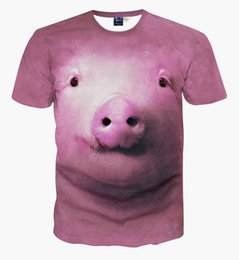 pig t shirts Coupons - Newest Fashion Animal Cute Pig Space Galaxy T-Shirt 3D Printed Women Men Summer Funny Short Sleeve Unisex T-shirt Casual Tops Tees K731