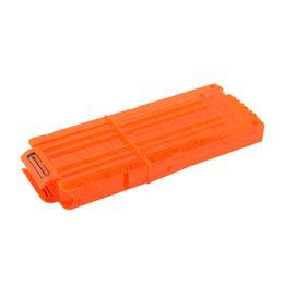 Revista de plástico on-line-12 Reload Clip Revistas Rodada Darts Substituição Revista De Plástico Arma de Brinquedo Macio Bala Clipe Laranja N-Strike Elite Caçoa o Presente