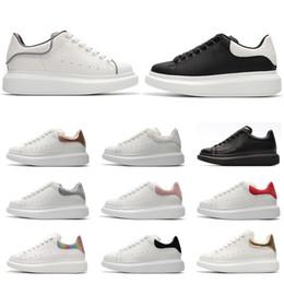 41cc1b46921d scarpe firmate sneakers in pelle moda per uomo donna bianco nero di alta  qualità Scarpe con plateau Altezza con suola spessa-s6ad26wq2 + 65d6 + 5q