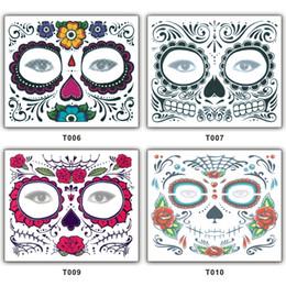 DEAD DIA DE LOS muertos MEXICO YÜZ TATOO KALİTELİ evironment DOSTU TATOO çıkartmanın TATOO STICKERS SU GEÇİRMEZ GÜN nereden