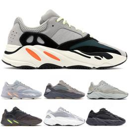 sg grün Rabatt 2019 700 Wave Runner Mauve Kanye West Wave-Static Schuhe Männer Frauen Schwarz Weiß Blau Grau Sport Designer Leichtathletik Sneaker