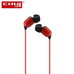 microphone sans fil Promotion CHYI Filaire Écouteurs Intra-auriculaires Super Bass Stéréo HIFI Casque Ecouteurs 3.5mm 3m Extra Longue Écouteurs Sans Microphone
