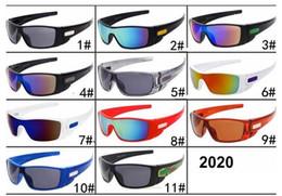 унисекс дизайнер солнцезащитные очки щит Скидка Горячие продажи Мужские спортивные солнцезащитные очки UV400 Велоспорт очки унисекс дизайнер 11 цветов ПК полный кадр щит очки оптом