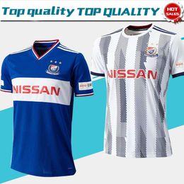 Fútbol online-J1 League Yokohama F. Marinos camisetas de fútbol 2019 Yokohama F. Marinos camiseta azul de fútbol local 2019 de visitante uniforme de fútbol