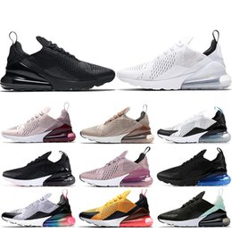finest selection 39172 cd51a nike air max 270 scarpe da corsa per uomo donna triplo nero bianco Be true  brown Violet Tiger BARELY ROSE LIGHT BONE scarpe da ginnastica sportive da  uomo ...
