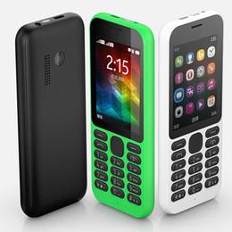 2.4 handys Rabatt neue Bar-Telefone Kamera FM-SIM-Karte von 2,4 Zoll 215 Handy mit Bluetooth-Kamera FM-Radio