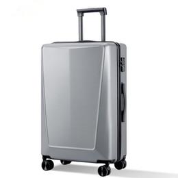 Canada Business 20 24 pouces valise PC anti-stress TSA résistant aux rayures affaire trolley Voyage roulant sacs à bagages avec roues Lockbox supplier suitcase trolley 24 inch Offre