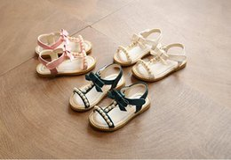 Argentina Sandalias para niñas Mumoresip Princess Gold Silver Girls Shoes Glitter Rhinestone Lentejuelas Niños Pisos Niños Wedding Party Dress Shoes cheap girls silver flat sandal Suministro