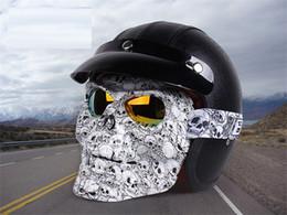 Маска безопасности изумленный взгляд защитные очки персонализированные очки голова череп лицо мотоцикл внедорожник лобовое стекло ветрозащитный лыж внедорожных тенденция очки от Поставщики персонализированные маски