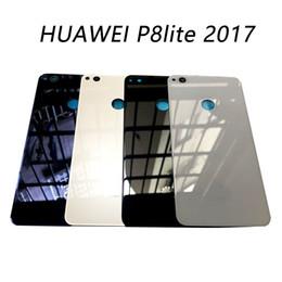 batería p8 Rebajas 1pcs para Huawei P8 Lite 2017 Reemplazo de batería de cristal del caso de la vivienda de la puerta