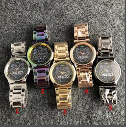 Bandas de reloj de gama alta online-2019 moda mujer reloj de acero inoxidable banda de la muñeca mujeres de negocios de alta gama de damas noble reloj de cuarzo
