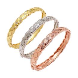 Retro lleno de diamantes decorativos brazalete para hombres y mujeres accesorios para banquetes de fiesta Diseñador CC Joyas de marca para mujer desde fabricantes