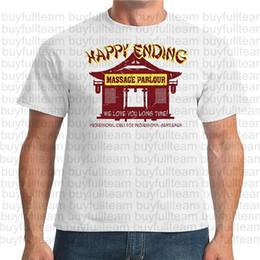 2019 masaje de amor Happy Ending masages We Love You larga para hombre blanco Tiempo de manga corta manera de las tapas de cuello redondo T Shirts Tamaño S M L XL 2XL 3XL masaje de amor baratos
