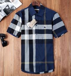2019 camisa de vestir de manga larga de camuflaje Nuevas ventas de camisetas de ocio, populares negocios de bordado de caballos de golf, polos, prendas de vestir de manga larga y corta para hombres73