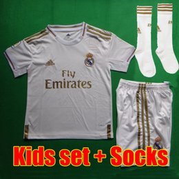 Canada Maillot de foot real madrid EA SPORTS Camisa Thaïlande Maillot de maillot madrid Real Madrid 2019 Maillot de foot VINICIUS 18 19 Maillot de foot sergio ramos Maillot de football BALE ASENSIO MODIC cheap real jersey child Offre