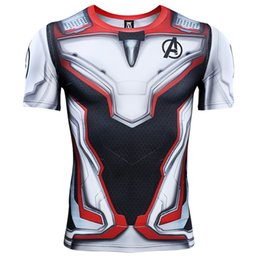 7df5eaf40db Avengers 4 Endgame Quantum War 3D Printed T shirts Men Compression Shirt  Iron man Cosplay Costume Long Sleeve Tops For Male
